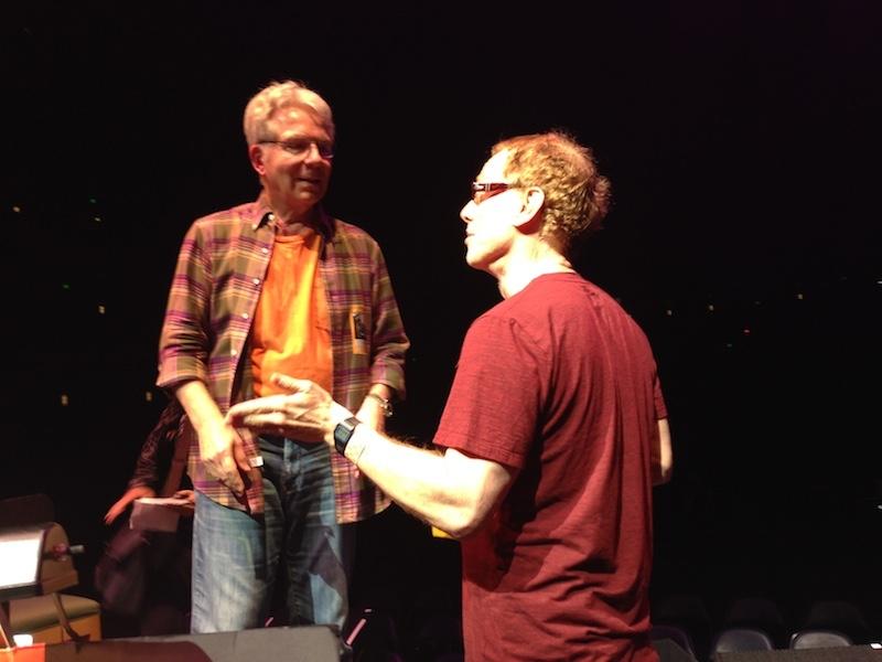 DannyElfman&ConductorJohnMauceri